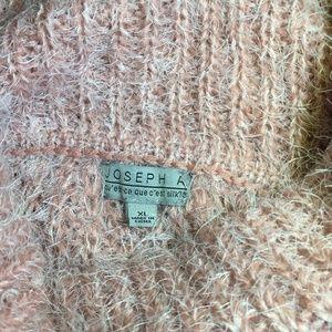 Joseph A Mauve Mohair Oversized Sweater Sz XL